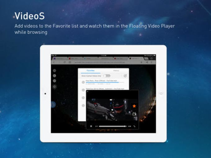 UC Browser+ pour iPad