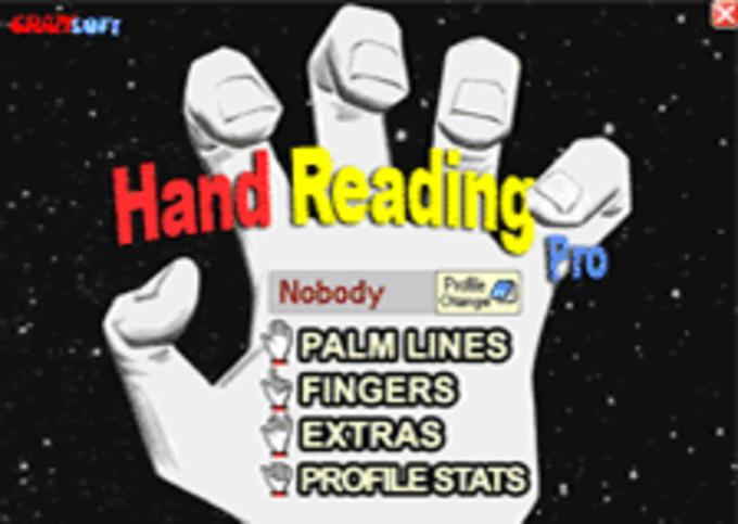 CrazySoft Hand Reading Pro