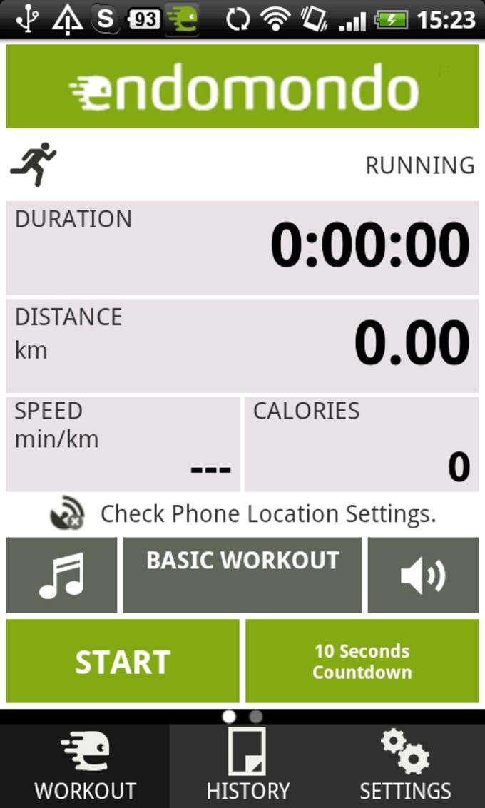 Endomondo Sports Tracker