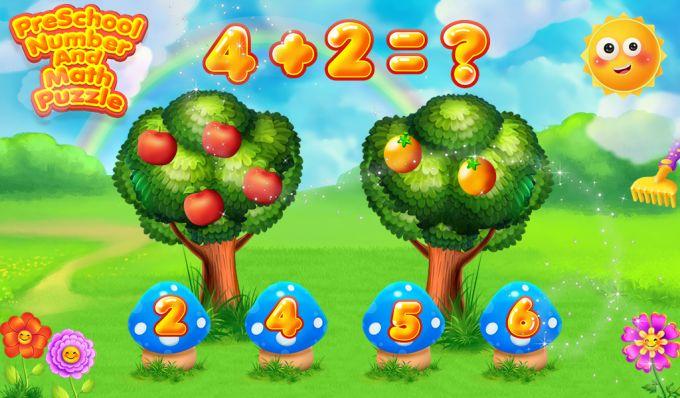 Preschool Number & Math Puzzle