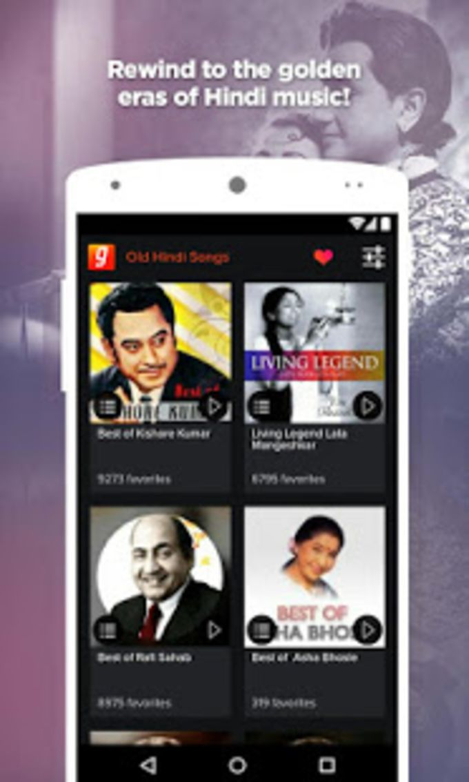 Old Hindi Songs by Gaana for Android - Download