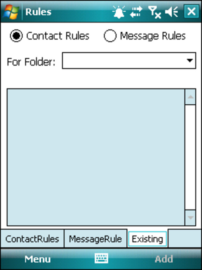 SMS Filter Rules