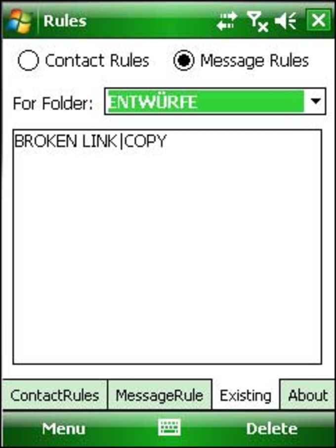 SMS Rules