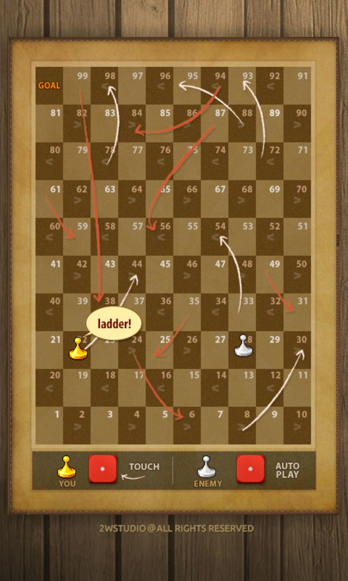 Dice,Roulette,Snake and ladder