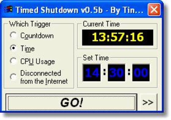 Timed Shutdown