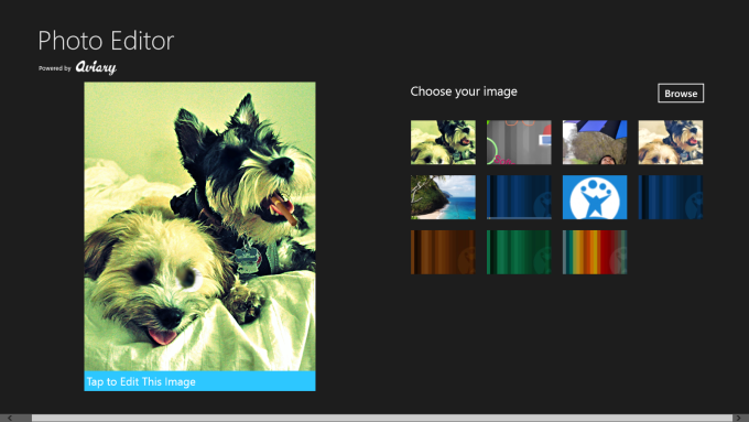 Photo Editor para Windows 10