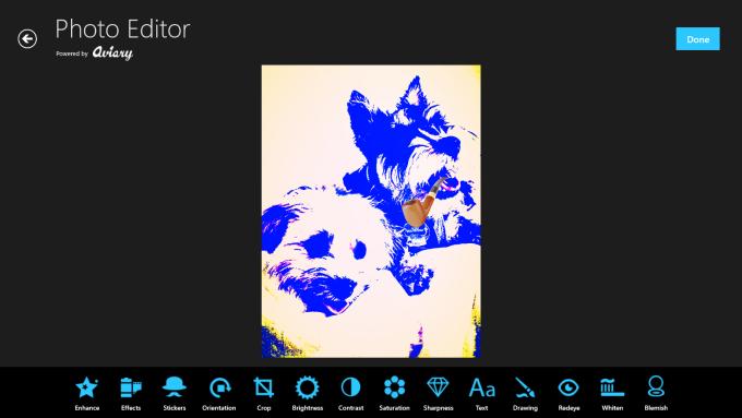 Aviary Photo Editor per Windows 10