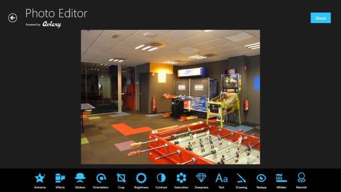 Aviary Photo Editor for Windows 10
