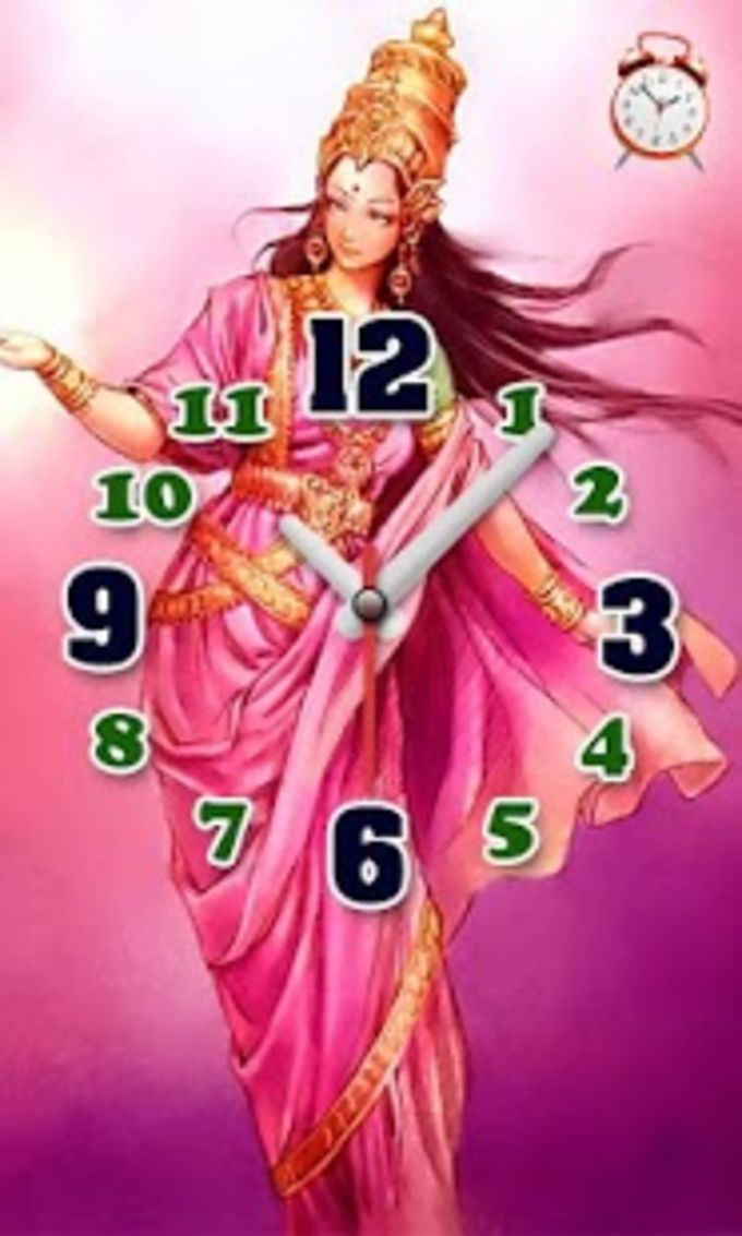 I Love India Clock & Alarm LWP