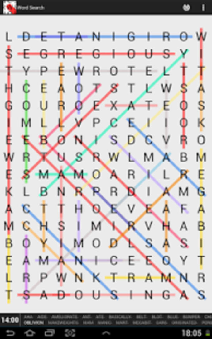 Word Search Unlimited Deluxe