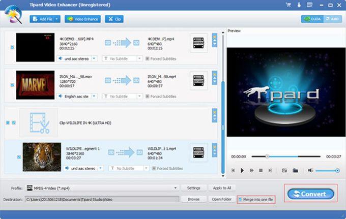 Tipard Video Enhancer