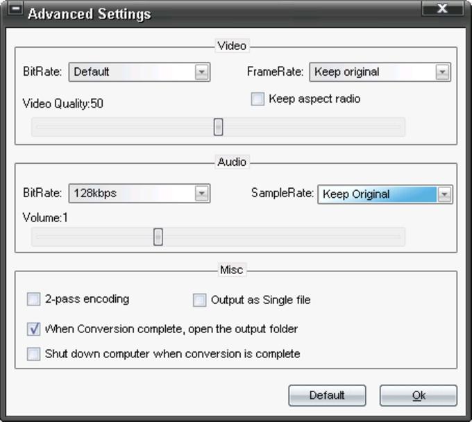 dvdXsoft DVD to iPod Converter