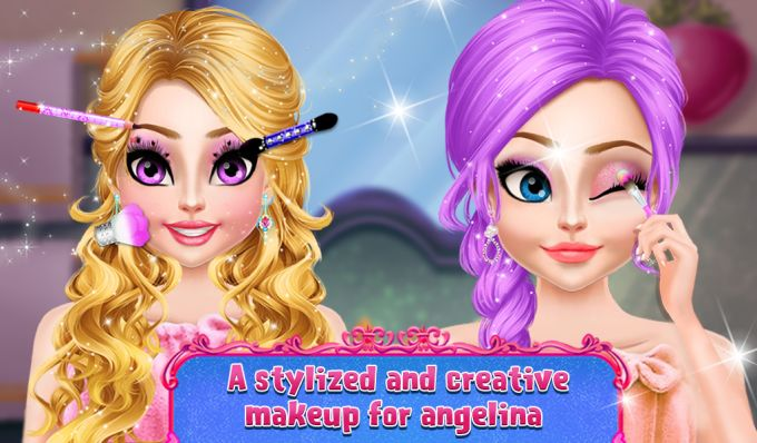 Angelina Find And Dressup