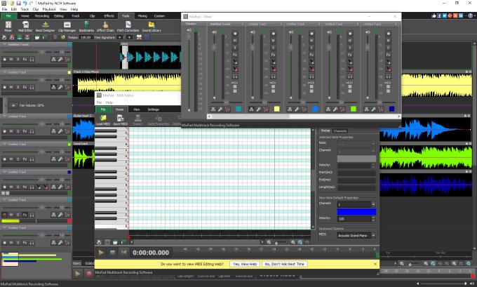 MixPad Free Music Mixer