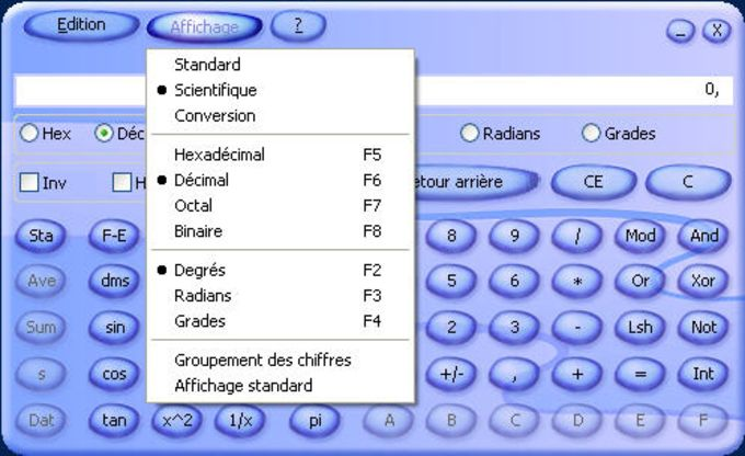 Microsoft Calculatrice Plus