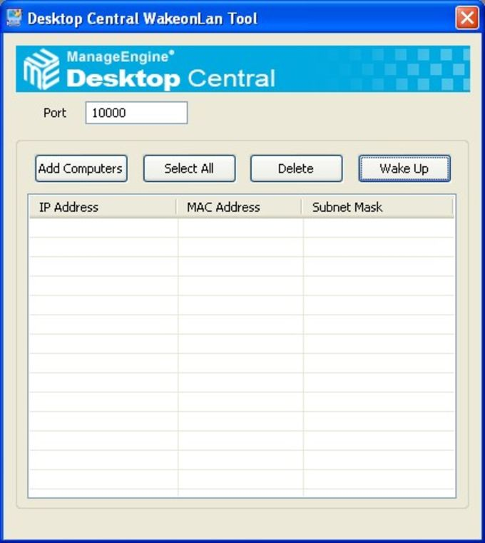 Desktop Central Free Windows Tools