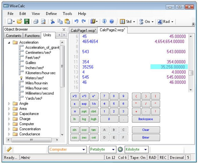 WiseCalc