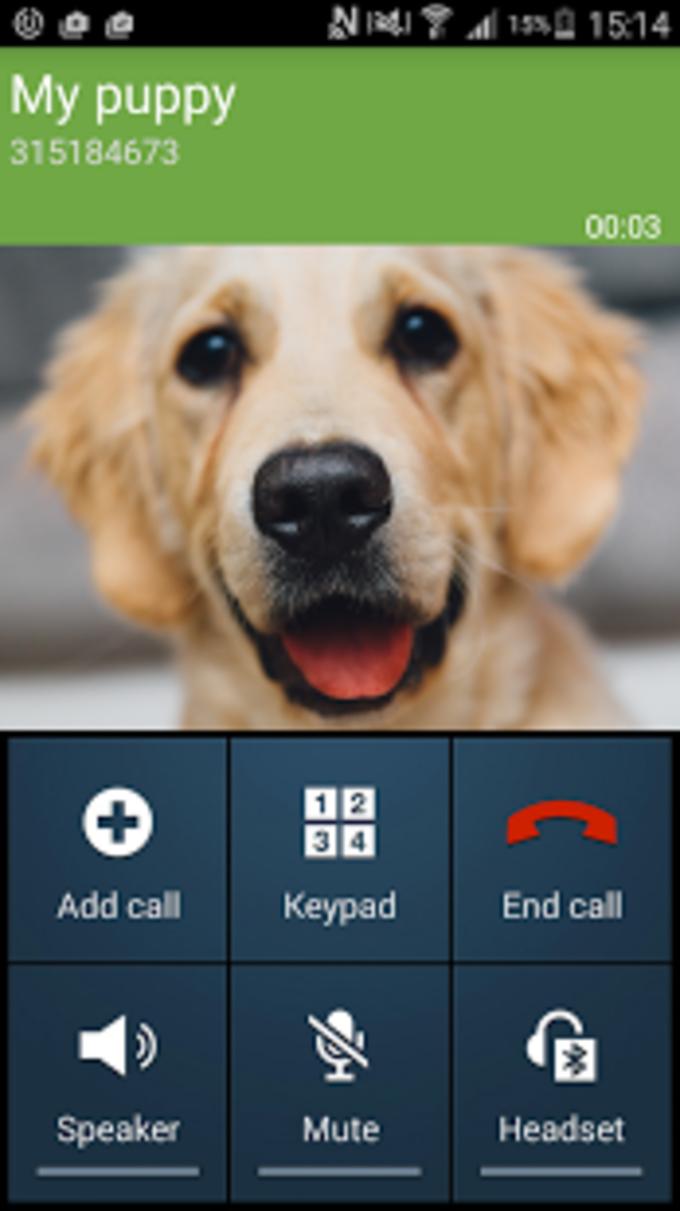 Fake phone call