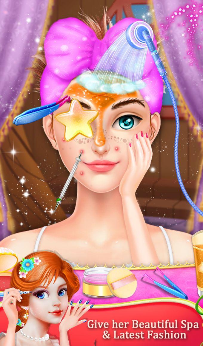 Princess Doll Long Hair Salon