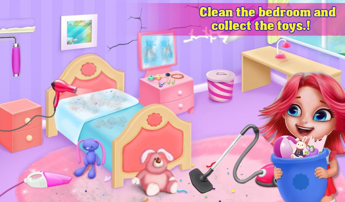 My Princess Doll House Cleanup
