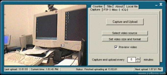 Easy Free Web Cam