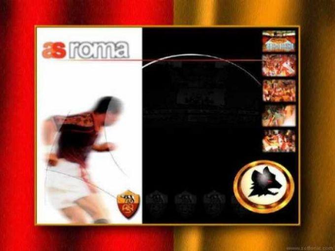 AS Roma Desktop Theme