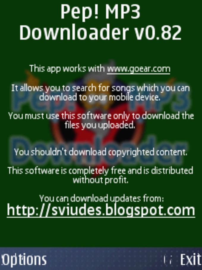 Pep! MP3 Downloader