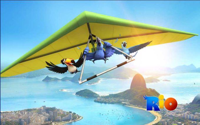 Windows-Theme des Kinofilms Rio