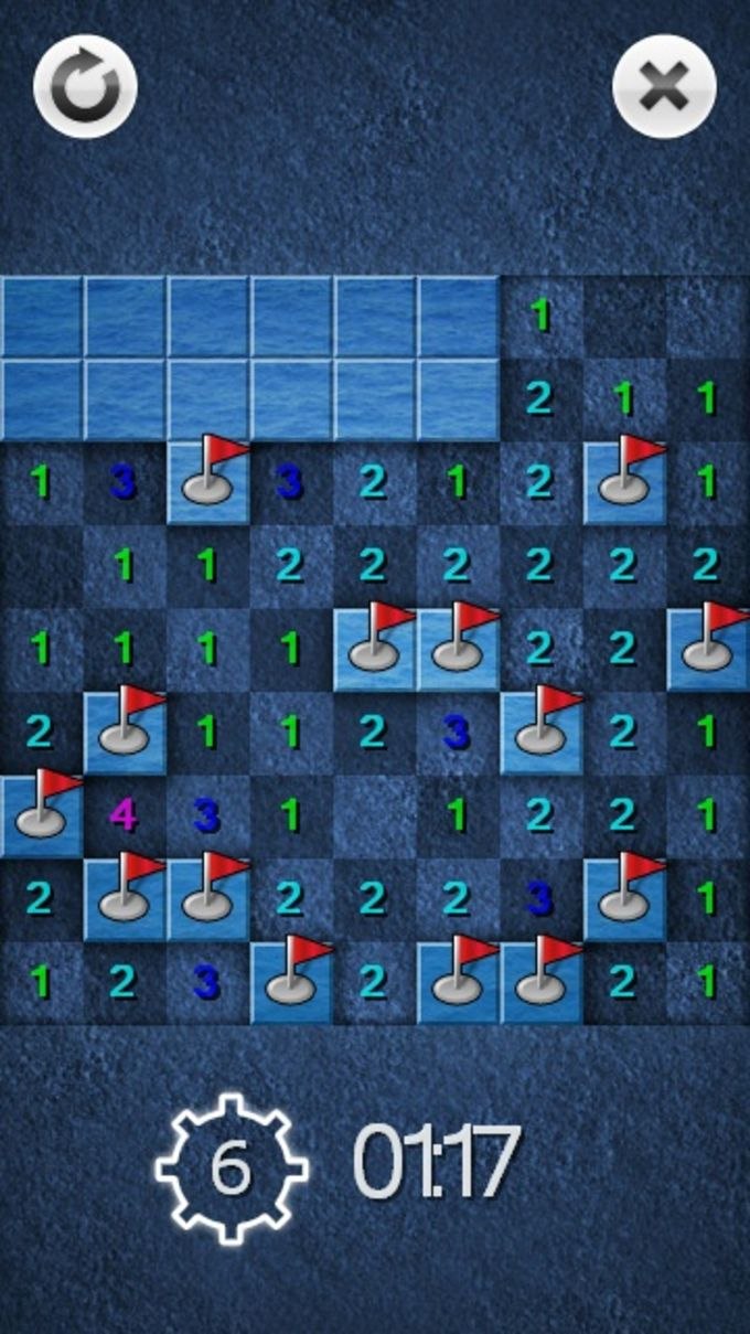 Mine Sweeper Touch