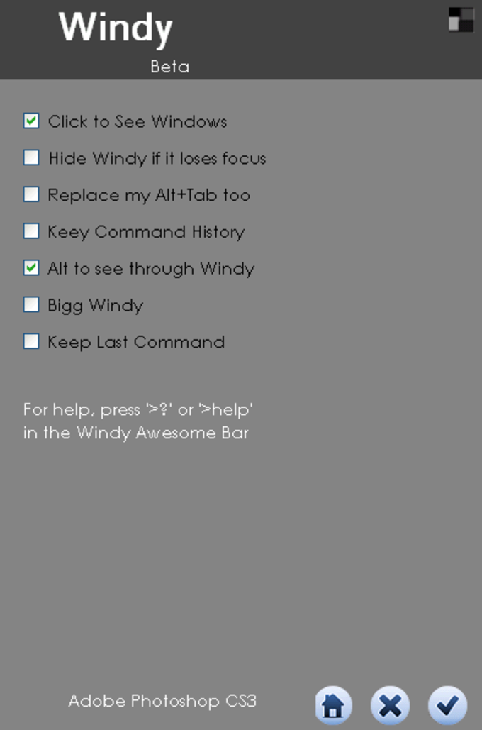 Windy - Window Manager