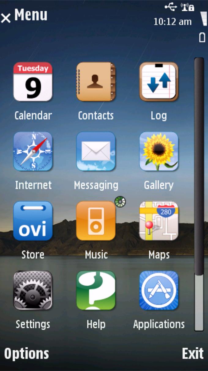 Temat Mini iPad