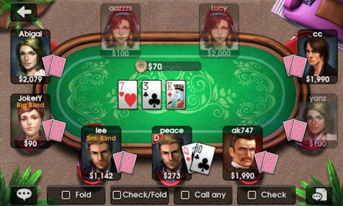 DH Texas Poker