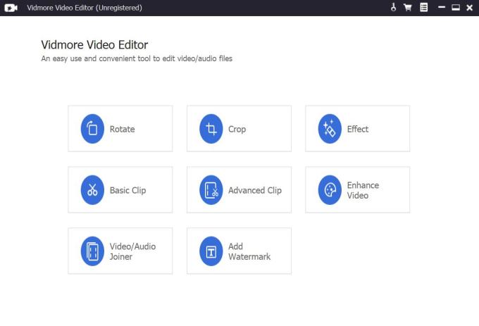 Vidmore Video Editor