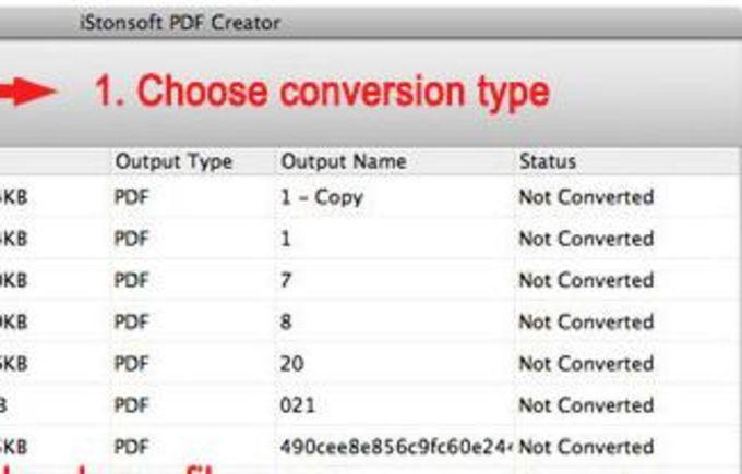 iStonsoft PDF Creator for Mac