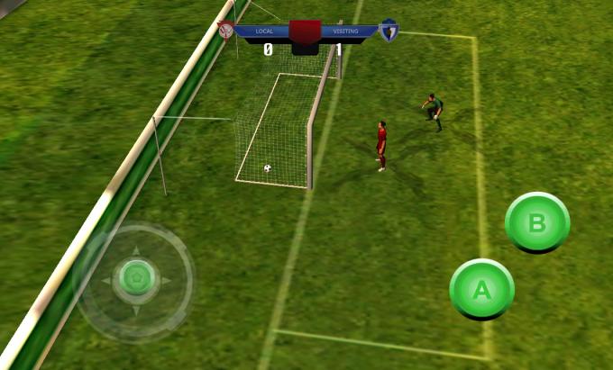 Jeu de football 2014 3D