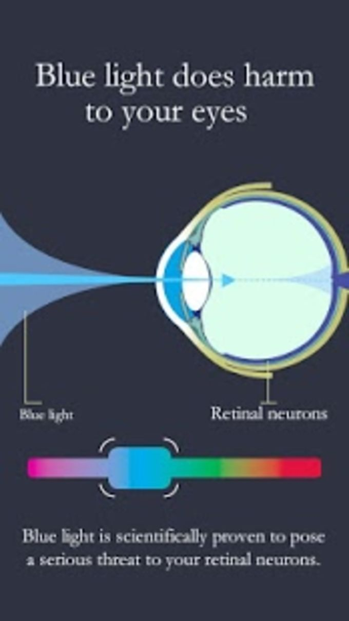 Blue Light Filter-Night Screen