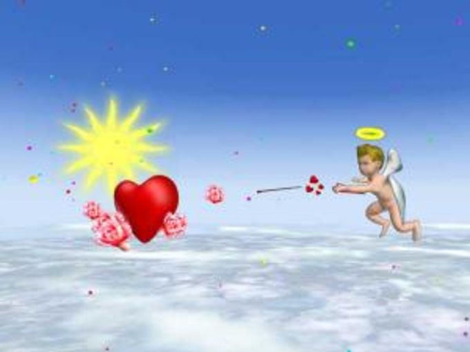 Valentine's Day 3D Screensaver