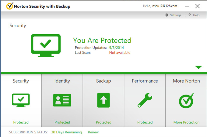 Norton Security with Backup Beta