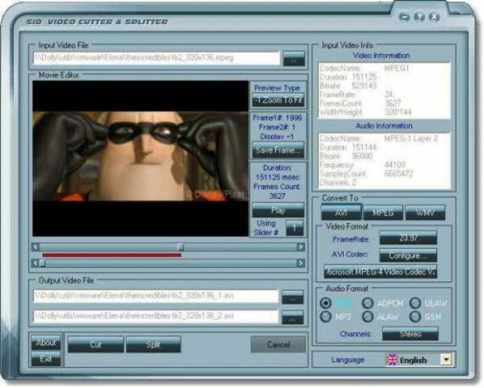 Video Cutter and Splitter