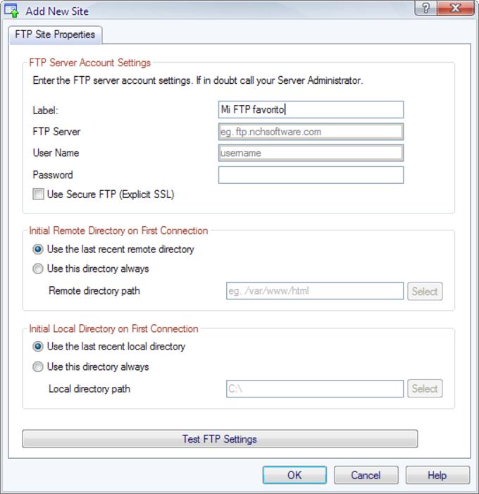 ClassicFTP FTP Software