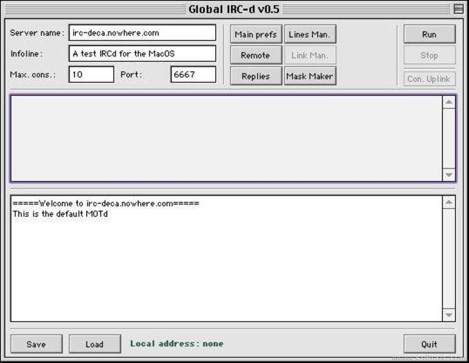 Global IRC-d