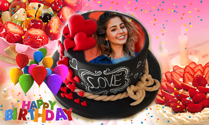 Name Photo On Birthday Cake Happy Birthday App For Android Download
