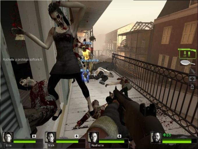 Left 4 Dead is an Engaging, Action-Adventure, Horror-Survival, FPS (First-person Shooter), Co-op, Single and Multiplayer video game created and published by Valve. The game offers a mixture of team-based, zombies, and exploration elements and lets the player immerse himself in shooting experience...