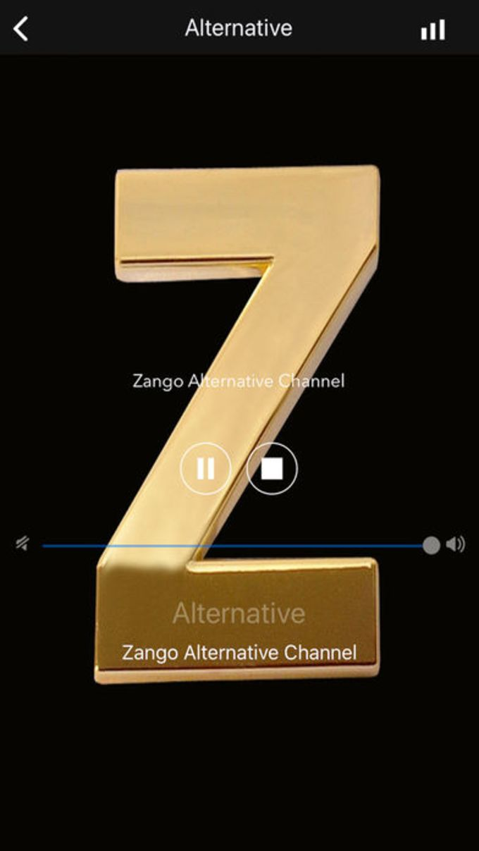 Zango Music Player