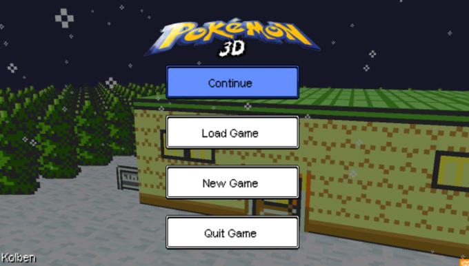 Pokémon3D