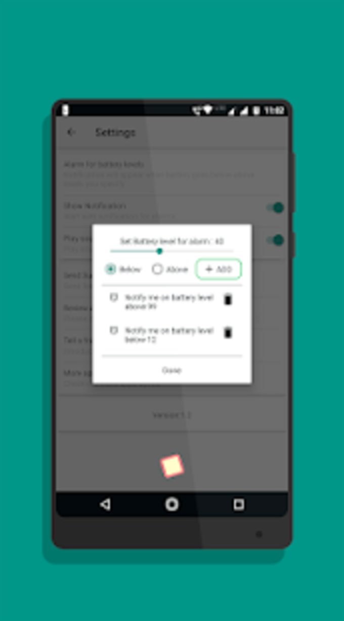 Battery Charging Animation  full battery alarm