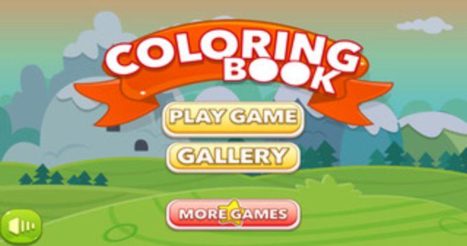 Kids Game Coloring Book
