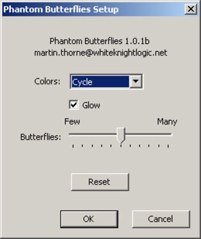 Phantom Butterflies