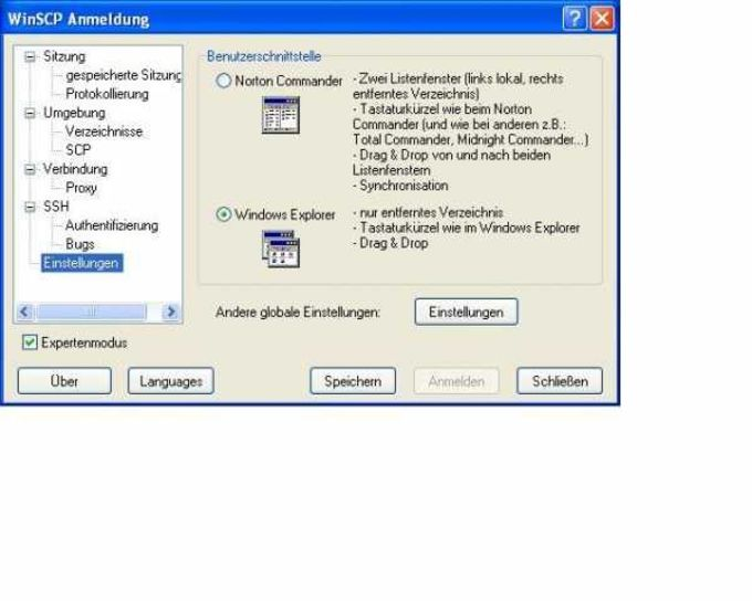 WinSCP Deutsche Sprachdatei