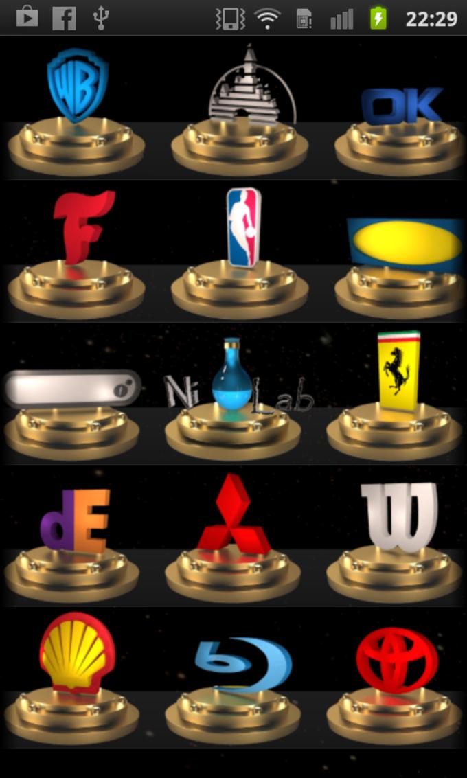 logo quiz 3d solution